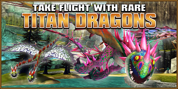 Titan dragons banner