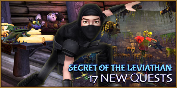 Secret of the Leviathan Banner - 17 Quests