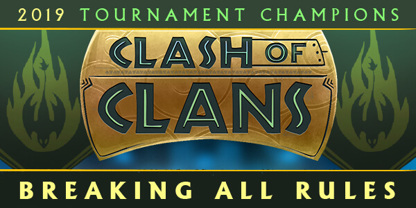 Clash of the Clans Winner - Breaking All Rules