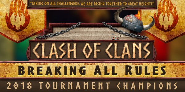 Clash of Clans 2018 Banner