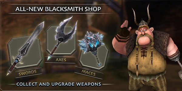All New Blacksmith Shop Banner