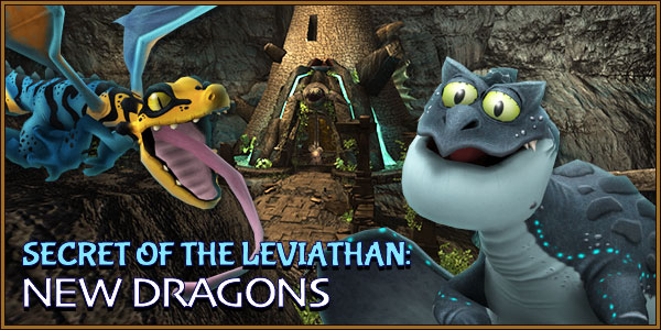 Secret of the Leviathan Banner - New Dragons