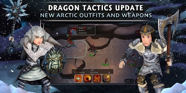 Dragons Tactics New Arctic Outfits and Weapons Banner