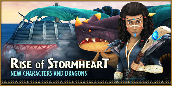 Stormheart New Characters Banner