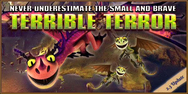 Terrible Terror Dragons Banner
