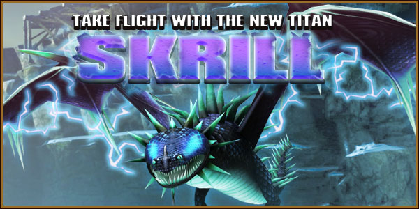 Titan Skrill Dragons Banner