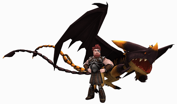 Dagur and Sleuther - HTTYD
