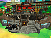 Check Out the New School of Dragons FunZone in JumpStart!